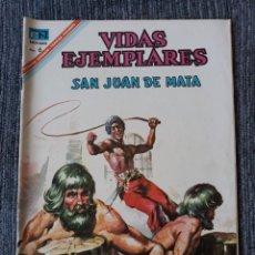 Tebeos: VIDAS EJEMPLARES Nº 253 : SAN JUAN DE MATA. (NOVARO) AÑO 1967. Lote 176009029