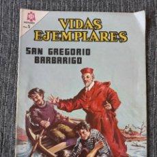 Tebeos: VIDAS EJEMPLARES Nº 222 : SAN GREGORIO BARBARIGO. (NOVARO) AÑO 1966. Lote 176009295