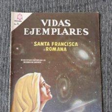 Tebeos: VIDAS EJEMPLARES Nº221: SANTA FRANCISCA ROMANA. (NOVARO) AÑO 1966. Lote 176009995