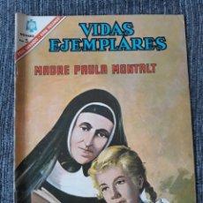 Tebeos: VIDAS EJEMPLARES Nº235: MADRE PAULA MONTALT. (NOVARO) AÑO 1966. Lote 176010522