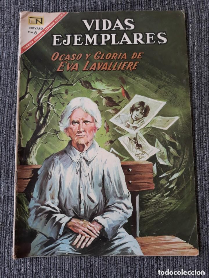 VIDAS EJEMPLARES Nº252: OCASO Y GLORIA DE EVA LAVALLIERE. (NOVARO) AÑO 1967 (Tebeos y Comics - Novaro - Vidas ejemplares)