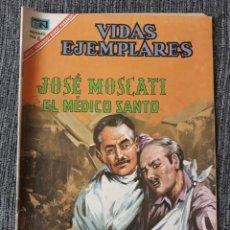 Tebeos: VIDAS EJEMPLARES Nº242: JOSE MOSCATI, EL MEDICO SANTO. (NOVARO) AÑO 1967. Lote 176010984