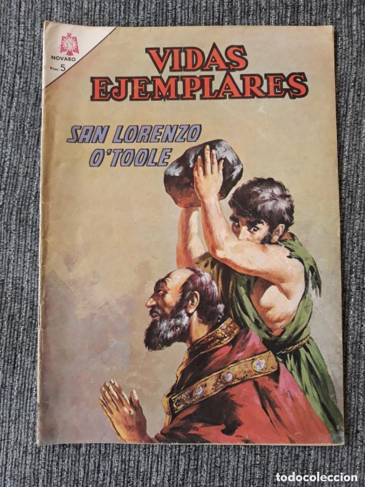 VIDAS EJEMPLARES Nº220: SAN LORENZO O´TOOLE. (NOVARO) AÑO 1966 (Tebeos y Comics - Novaro - Vidas ejemplares)