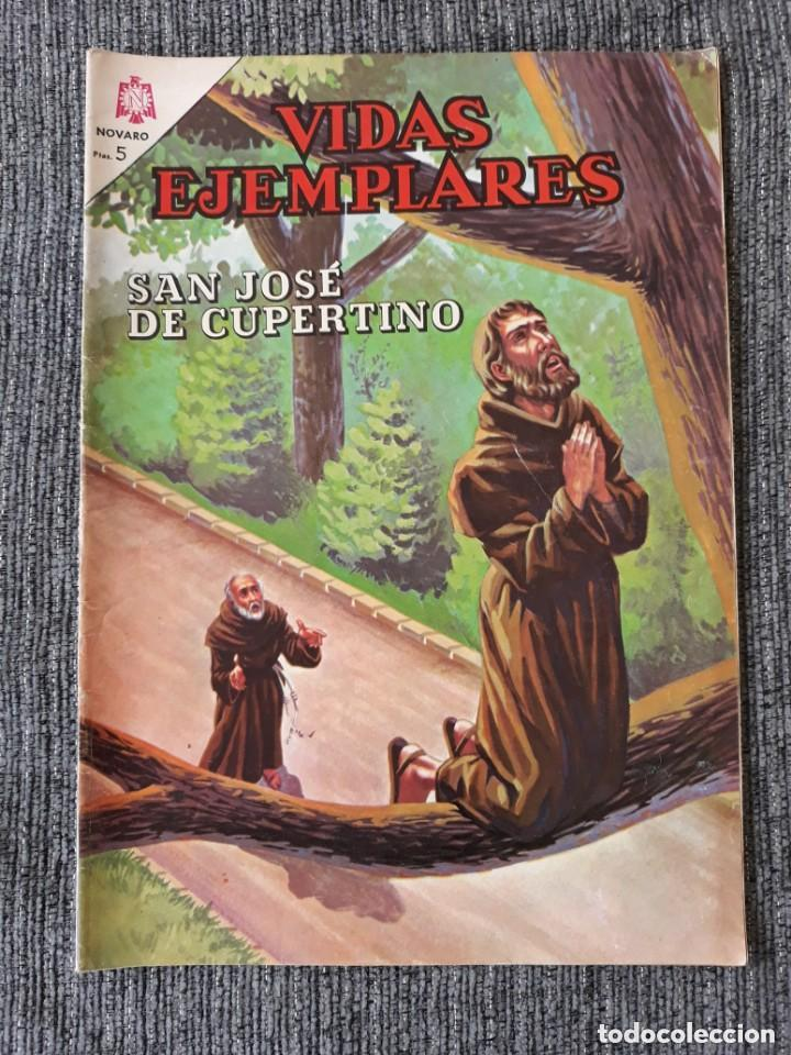 VIDAS EJEMPLARES Nº223: SAN JOSE CUPERTINO. (NOVARO) AÑO 1966 (Tebeos y Comics - Novaro - Vidas ejemplares)