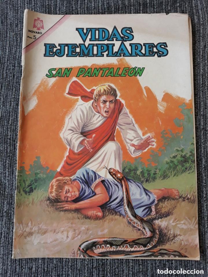 VIDAS EJEMPLARES Nº219: SAN PANTALEÓN. (NOVARO) AÑO 1966 (Tebeos y Comics - Novaro - Vidas ejemplares)