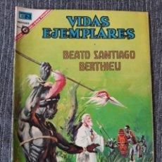 Tebeos: VIDAS EJEMPLARES Nº240: BEATO SANTIAGO BERTHIEU. (NOVARO) AÑO 1967. Lote 176012024