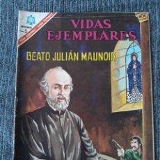 Tebeos: VIDAS EJEMPLARES Nº234: BEATO JULIAN MAUNOIR. (NOVARO) AÑO 1966. Lote 176012175