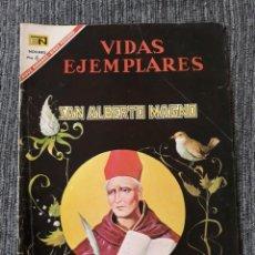 Tebeos: VIDAS EJEMPLARES Nº241: SAN ALBERTO MAGNO. (NOVARO) AÑO 1967. Lote 176012263