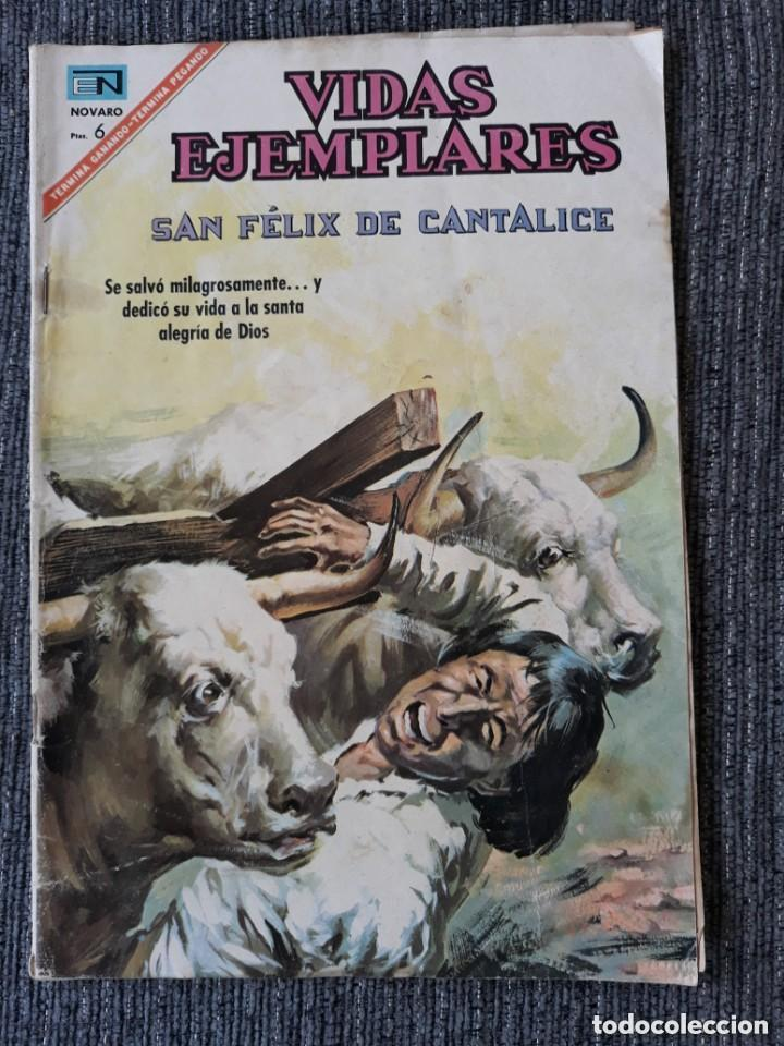 VIDAS EJEMPLARES Nº254: SAN FELIX DE CANTALICE. (NOVARO) AÑO 1967 (Tebeos y Comics - Novaro - Vidas ejemplares)
