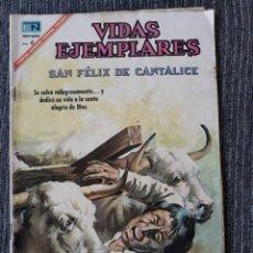 Tebeos: VIDAS EJEMPLARES Nº254: SAN FELIX DE CANTALICE. (NOVARO) AÑO 1967. Lote 176012680