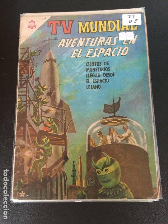 NOVARO TV MUNDIAL NUMERO 77 NORMAL ESTADO (Tebeos y Comics - Novaro - Otros)