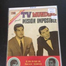 Tebeos: NOVARO TV MUNDIAL NUMERO 152 BUEN ESTADO. Lote 176208783