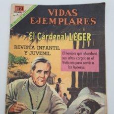Tebeos: VIDAS EJEMPLARES. EL CARDENAL LÉGER. 1969. Lote 176484025
