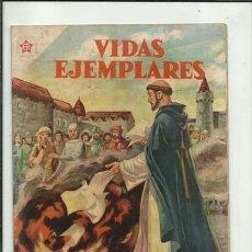 BDs: VIDAS EJEMPLARES 23: SANTO DOMINGO DE GUZMAN, 1956, NOVARO, BUEN ESTADO. COLECCIÓN A.T.. Lote 189813916