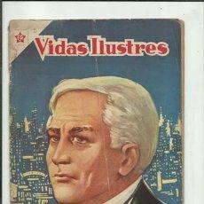 Livros de Banda Desenhada: VIDAS ILUSTRES 2: TOMÁS A. EDICON, 1956, NOVARO, USADO. COLECCIÓN A.T.. Lote 176617110