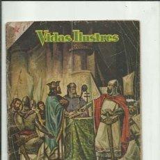 Tebeos: VIDAS ILUSTRES 19: EL CID CAMPEADOR, 1957, NOVARO, USADO. COLECCIÓN A.T.. Lote 176617485