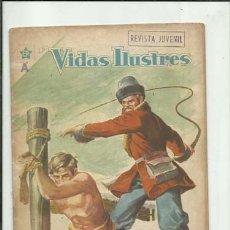 Tebeos: VIDAS ILUSTRES 28: FEDOR DOSTOYEVSKI, 1958, NOVARO. COLECCIÓN A.T.. Lote 176617883