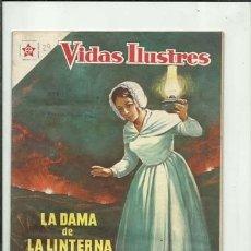 Tebeos: VIDAS ILUSTRES 29: LA DAMA DE LA LINTERNA, 1958, NOVARO, BUEN ESTADO. COLECCIÓN A.T.. Lote 176617959