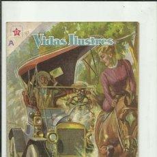 Livros de Banda Desenhada: VIDAS ILUSTRES 32: HISTORIA DE HENRY FORD, 1958, NOVARO, BUEN ESTADO. COLECCIÓN A.T.. Lote 176618125