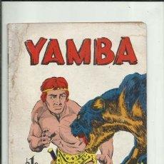 Tebeos: YAMBA 61, 1966, EDITORA SOL. COLECCIÓN A.T.. Lote 176618417