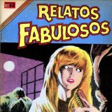 Tebeos: RELATOS FABULOSOS NOVARO// LA BESTIA DEL PANTANO//REIMPRESIONES DE EXCELENTE CALIDAD. Lote 186464840