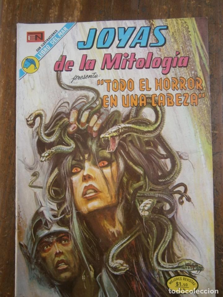 JOYAS DE LA MITOLOGIA # 228 EDITORIAL NOVARO MEXICO 1973 (Tebeos y Comics - Novaro - Otros)