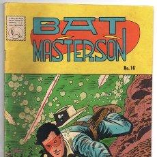 Tebeos: BAT MASTERSON # 16 LA PRENSA 1960 EL JINETE ENMASCARADO WILD BILL HICKOK EXCELENTE ESTADO. Lote 176869207