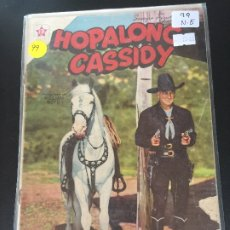 Tebeos: NOVARO HOPALONG CASSIDY NUMERO 99 NORMAL ESTADO. Lote 176967403