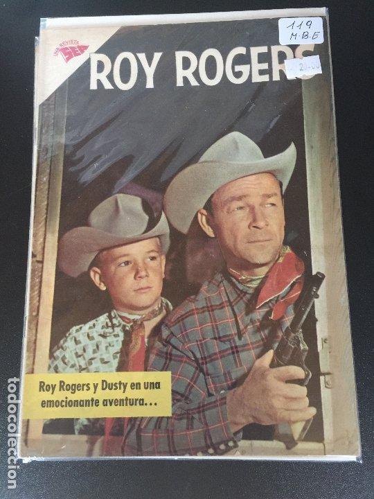 NOVARO ROY ROGERS NUMERO 119 MUY BUEN ESTADO (Tebeos y Comics - Novaro - Roy Roger)