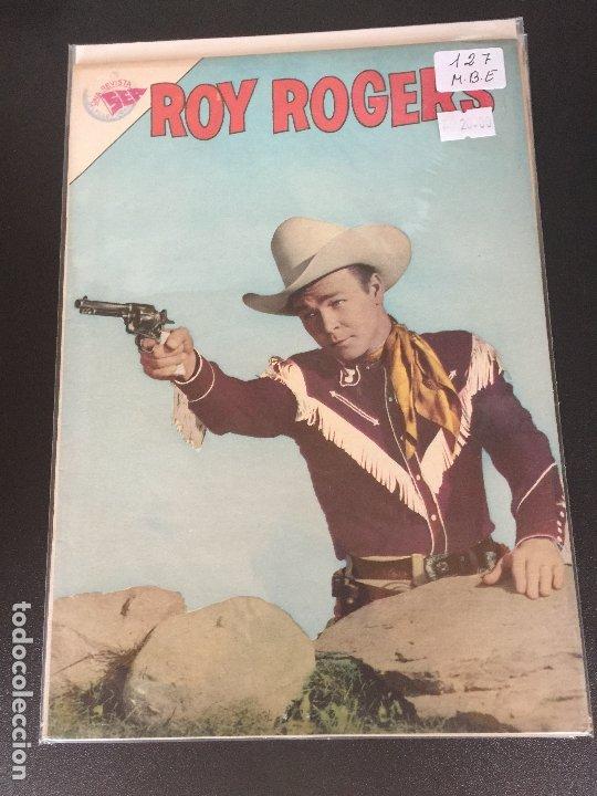 NOVARO ROY ROGERS NUMERO 127 MUY BUEN ESTADO (Tebeos y Comics - Novaro - Roy Roger)