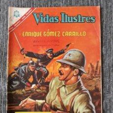 Tebeos: VIDAS ILUSTRES Nº150 ,ENRIQUE GOMEZ CARRILLO (NOVARO) AÑO 1966. Lote 176990122