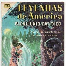 Tebeos: LEYENDAS DE AMERICA # 146 NOVARO 1968 PLENILUNIO FATIDICO LEYENDA COLOMBIANA EXCELENTE. Lote 177436200