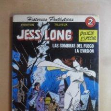 Tebeos: Nº 2 - JESS LONG, POLICIA ESPECIAL - HISTORIAS FANTASTICAS - PIROTON / TILLIEUX - ED. NOVARO - 1979. Lote 177569055