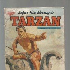 Tebeos: TARZAN 38, 1955, NOVARO, USADO. Lote 177572723