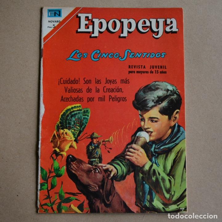 EPOPEYA, Nº 114. NOVARO 1967. PROCEDE DE RETAPADO. LITERACOMIC. C2 (Tebeos y Comics - Novaro - Epopeya)