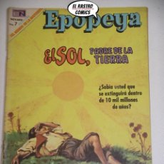 Tebeos: EL SOL PADRE DE LA TIERRA, EPOPEYA Nº 134, NOVARO, ER 6F. Lote 177655222