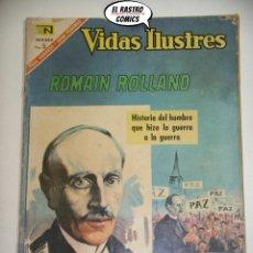Livros de Banda Desenhada: ROMAIN ROLLAND, VIDAS ILUSTRES Nº 153, NOVARO, ER 6F. Lote 177682307