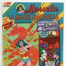 Tebeos: MARVILA # 3-284 NOVARO 1982 LA CAZADORA & COMODIN RED DRAGON STATON LEVITZ CONWAY DELBO EXCELENTE. Lote 177817708