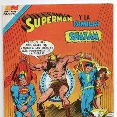 Tebeos: SUPERMAN # 3-97 & FAMILIA SHAZAM MR MXYZPTLK VS MARVEL EL REY TOR ROY THOMAS CONWAY DICK EXCELENTE. Lote 177823174