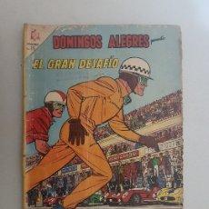 Tebeos: DOMINGOS ALEGRES. NUMERO EXTRAORDINARIO. EL GRAN DESAFIO. NOVARO.. Lote 177829360