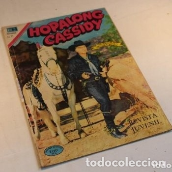HOPALONG CASSIDY N° 184 PROTAGONIZADO POR WILLIAM BOYD/ NOVARO 1970, BUEN ESTADO. (Tebeos y Comics - Novaro - Hopalong Cassidy)