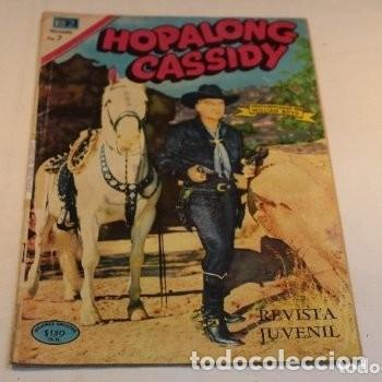 Tebeos: Hopalong cassidy n° 184 protagonizado por William boyd/ Novaro 1970, buen estado. - Foto 2 - 177830265