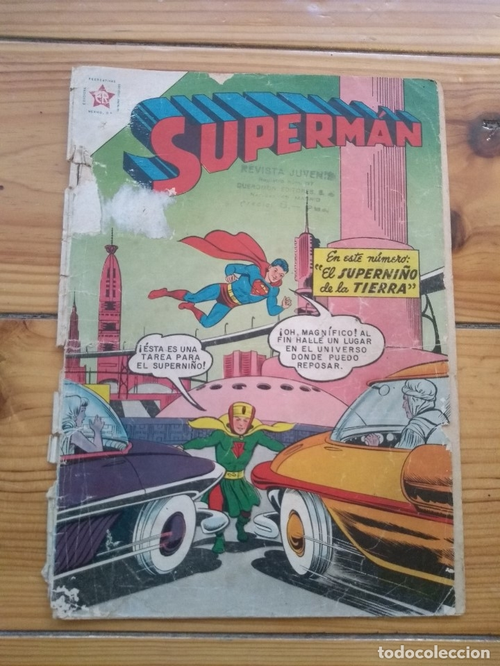 SUPERMAN # 114 (Tebeos y Comics - Novaro - Superman)