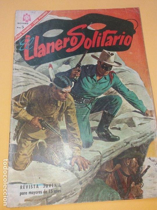 EL LLANERO SOLITARIO 162 NOVARO (Tebeos y Comics - Novaro - El Llanero Solitario)
