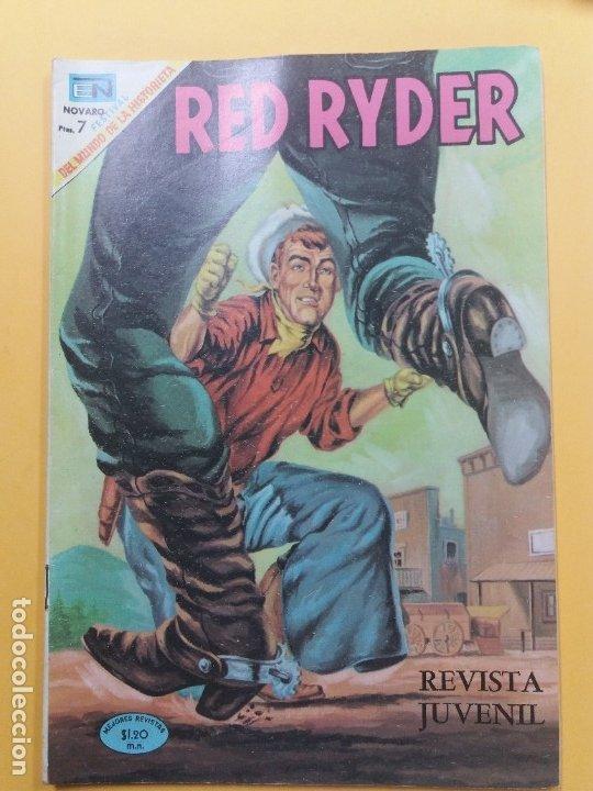 RED RYDER-205-NOVARO (Tebeos y Comics - Novaro - Red Ryder)