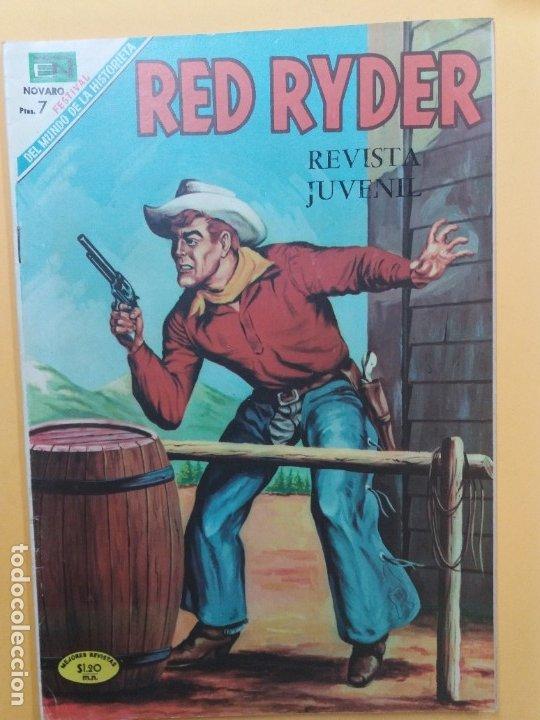 RED RYDER-208-NOVARO (Tebeos y Comics - Novaro - Red Ryder)