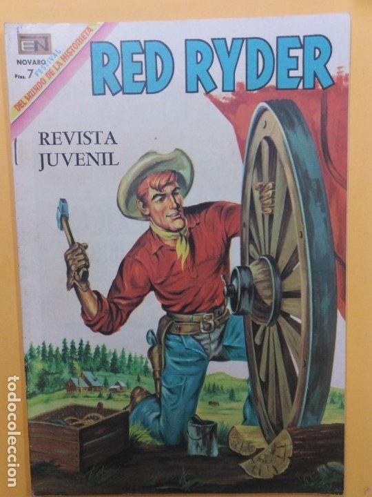 RED RYDER-204-NOVARO (Tebeos y Comics - Novaro - Red Ryder)