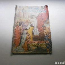 Tebeos: VIDAS EJEMPLARES SANTA GENOVEVA PATRONA DE PARIS EDITORIAL NOVARO. Lote 178055824