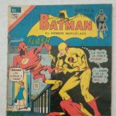 Tebeos: BATMAN EL HOMBRE MURCIÉLAGO- EL SECRETO MORTAL DE FLASH - AÑO XXIII Nº 802 SERIE ÁGUILA - VER FOTOS . Lote 178103620