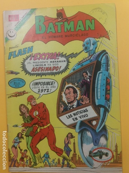 BATMAN 644 NOVARO (Tebeos y Comics - Novaro - Batman)